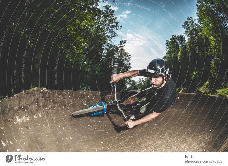 Dirt 1 Mensch Natur Jugendliche Erwachsene Junger Mann Umwelt 18-30 Jahre Sport maskulin Coolness