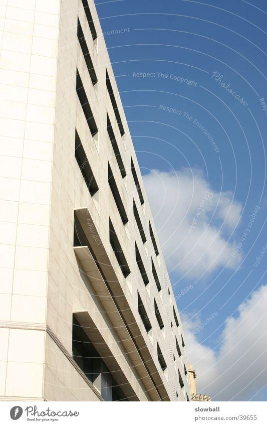 Barcelona Rambla Gebäude Architektur Blauer Himmel