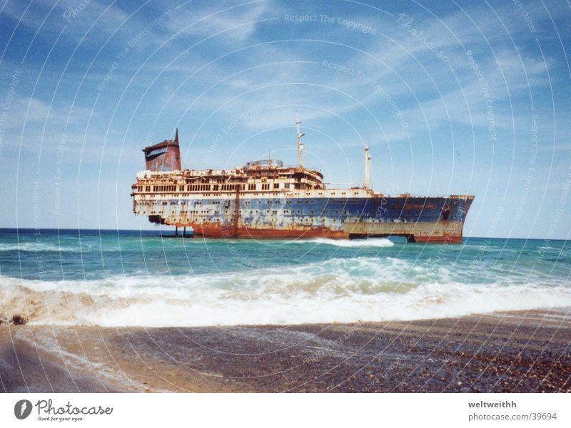 American Star Europa Wasserfahrzeug Fuerteventura Schiffswrack