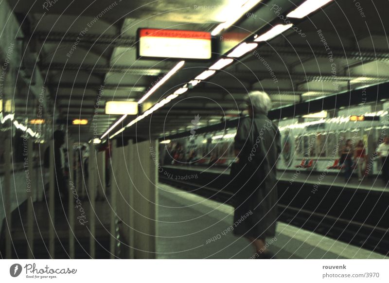 Paris Metro Architektur Eisenbahn Tunnel U-Bahn
