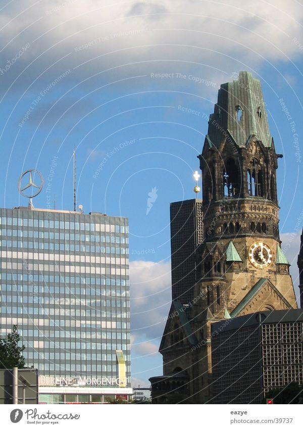 Kaiser-Wilhelm-Gedächtnis-Kirche Sightseeing Kurfürstendamm Charlottenburg Architektur Gedächtnis Kirche Europacanter Berlin
