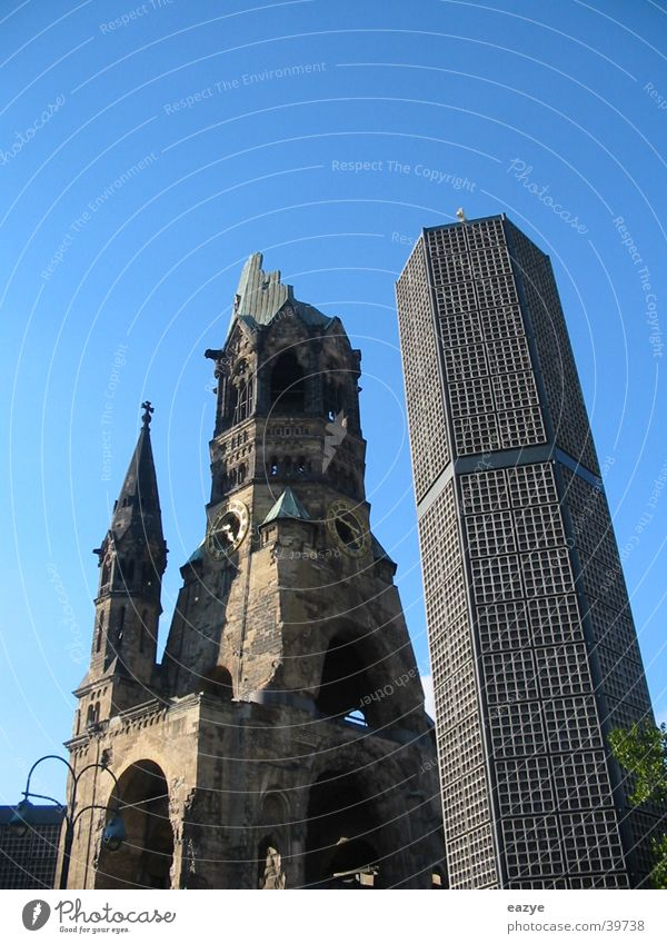 Kaiser-Wilhelm-Gedächtnis-Kirche Sightseeing Charlottenburg Kurfürstendamm Architektur Gedächtnis Kirche Religion & Glaube Berlin