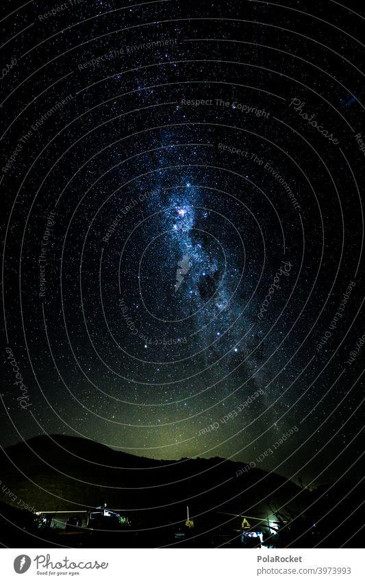 #AS# Guter Schlafplatz Milchstrasse campervan Camper Outdoor Sternenhimmel Nacht Nachthimmel sternenklar Weltall Langzeitbelichtung reisen überwältigt weltreise