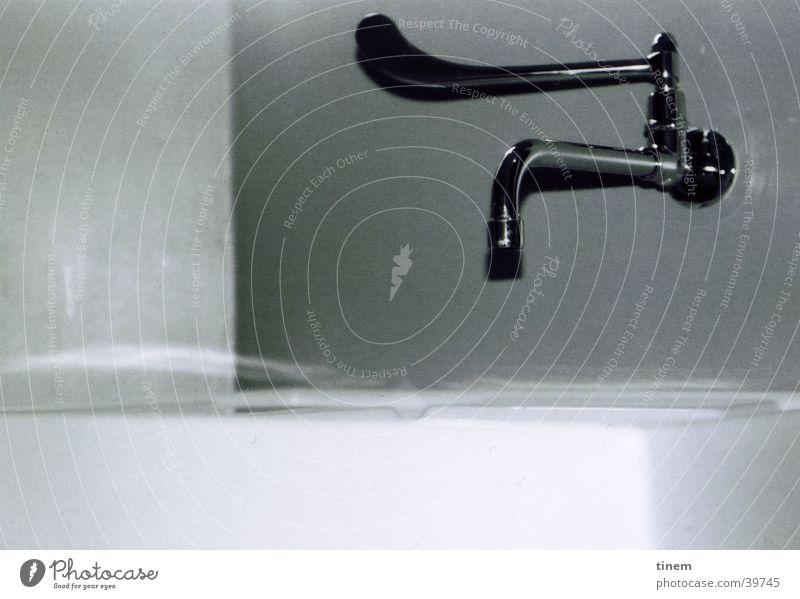Hahn Technik & Technologie Schwung Wasserhahn Waschbecken Chrom Elektrisches Gerät
