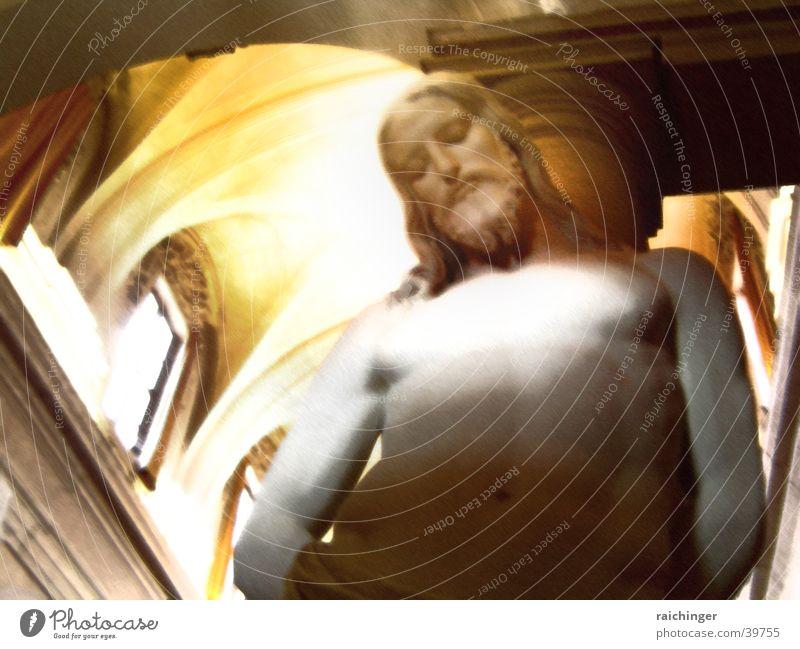 ecce homo Jesus Christus Statue Rom Religion & Glaube Oberkörper Christentum Kirchenfenster Mann Gesicht