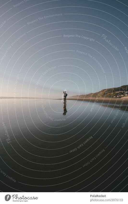 #AS# Strandfotograf II vom SchlaWIENER Wegweiser Strukturen & Formen endlos weite Natur Küste Sommerurlaub Farbfoto Meer Menschenleer Außenaufnahme Tag