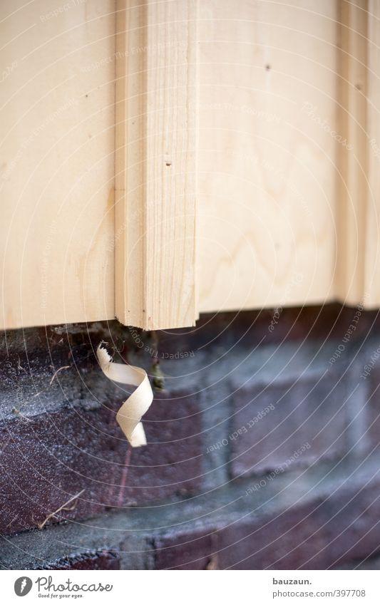 ut köln | zollstock | locke. heimwerken Wohnung Renovieren Handwerker Baustelle Haus Hütte Bauwerk Gebäude Mauer Wand Fassade Stein Holz bauen Farbfoto