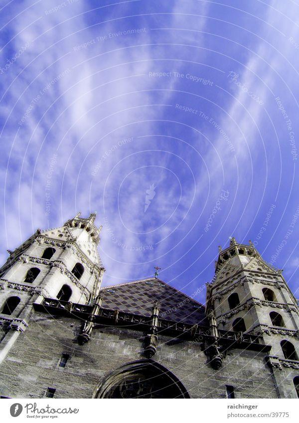 steffl Wolken Religion & Glaube Wien Christentum Gotteshäuser Stephansdom