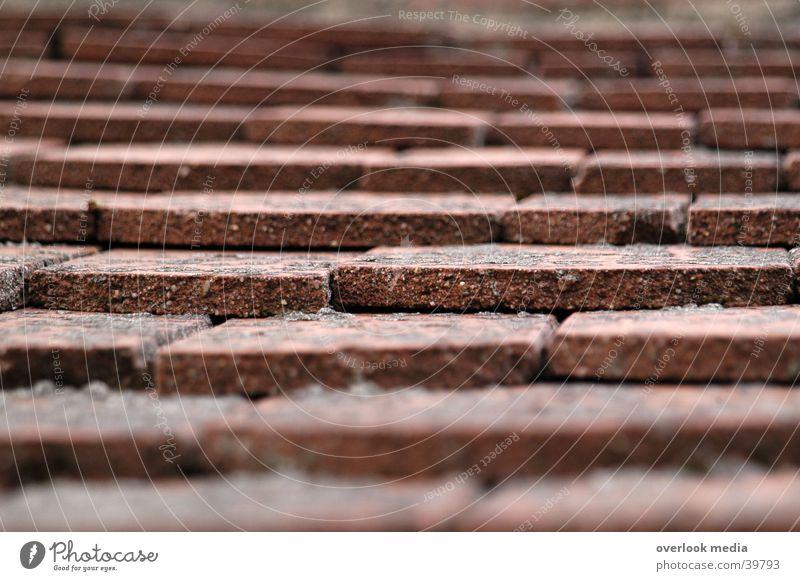 Dachziegel rot Haus Architektur