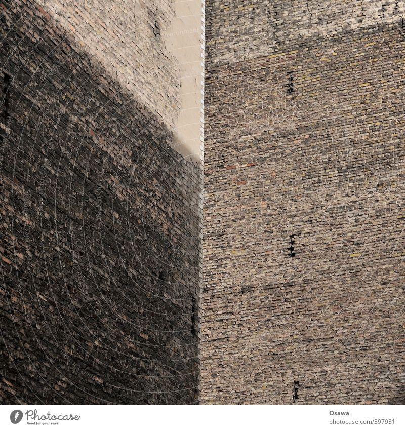 Brandwände Wand Architektur Mauer Gebäude grau Berlin Stein trist Textfreiraum Hinterhof Altbau Brandmauer