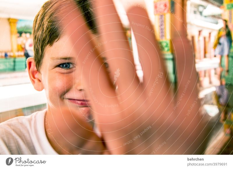 boah mama, du bist echt nen paparazzo Lächeln Liebe Glück glücklich fröhlich Fröhlichkeit Zufriedenheit Kindheit Familie & Verwandtschaft Sohn Freiheit