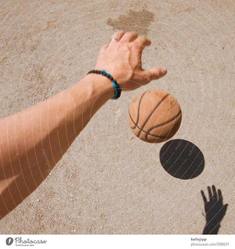 rookie Mensch Mann Hand Erwachsene Sport Spielen maskulin Freizeit & Hobby Erfolg Arme Finger Fitness planen Sport-Training Sportler links