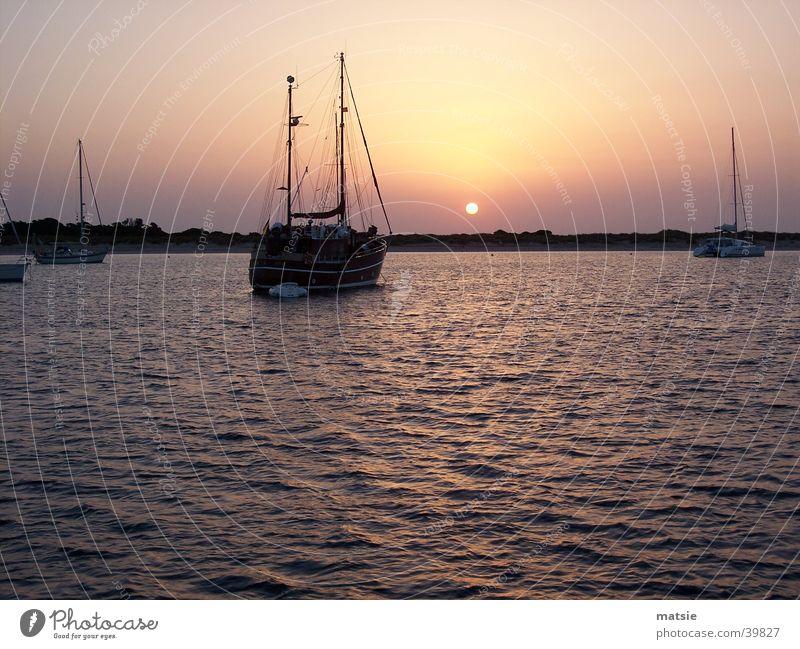sunset33 Meer Ferien & Urlaub & Reisen Europa Idylle