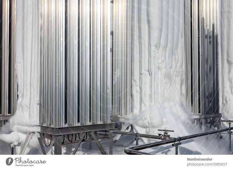 Verdampfer für flüssigen und tiefkalten Stickstoff in der modernen Industrie gas verdampfer wärmetauscher kältetechnik stickstoff sauerstoff flüssiggas