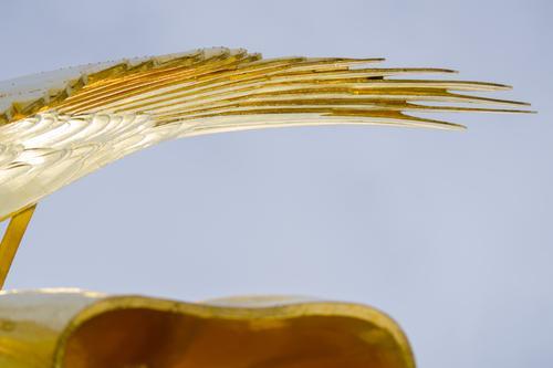 Engelsflügel In Blattgold Siegessäule Gold Originalität Kunsthandwerk Goldelse Sehenswürdigkeit historisch viktoria großer stern Berlin Figur Wahrzeichen