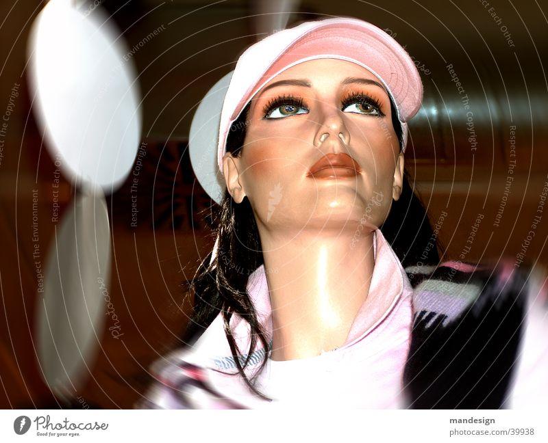 Puppe mit Stil Frau Mensch schön Leben modern Schaufensterpuppe Fototechnik
