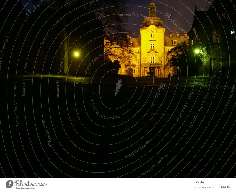Schloss Bückeburg @ Night Stimmung Architektur Burg oder Schloss