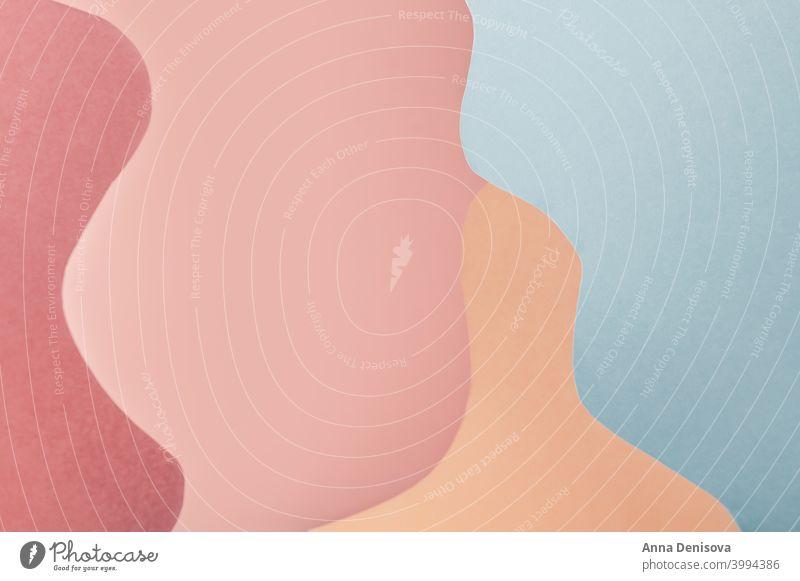 Gebogenes Hintergrundbild Anzeige Blöcke solide Schaufenster leeres Podium gekrümmt Sockel-Anzeige geometrische Form Regal Produkt-Mockup