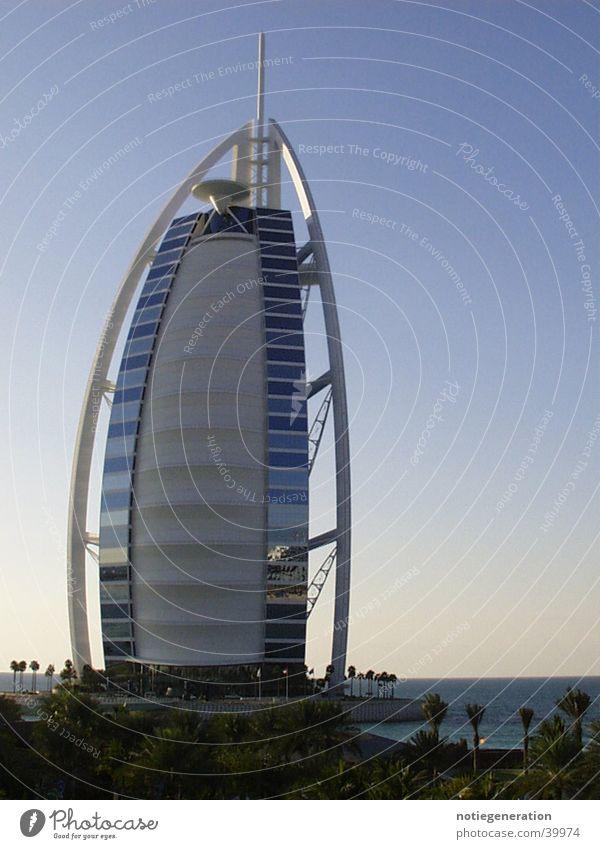 burj-al-arab Architektur Hotel