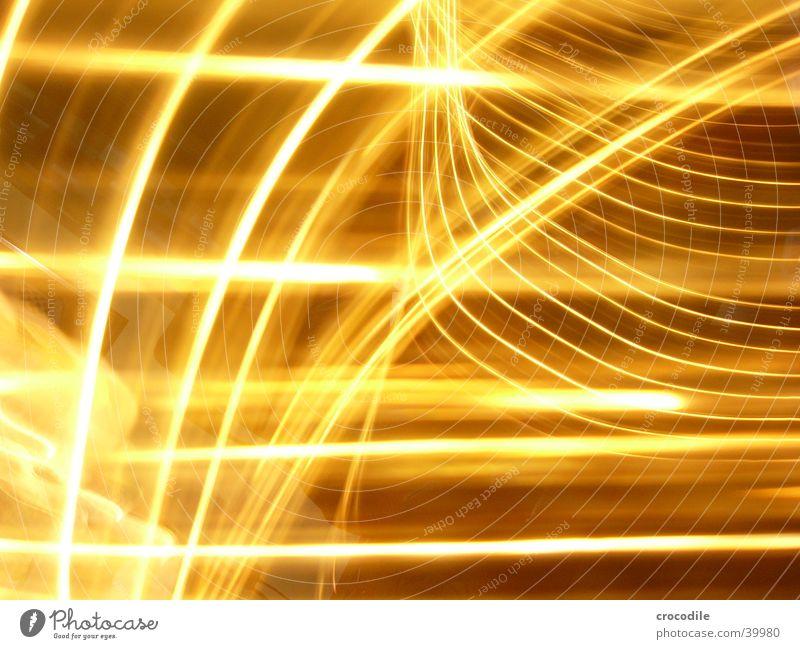 ...no idea gelb weiß Langzeitbelichtung Überbelichtung hell Lichterschlauch leuchten Unschärfe