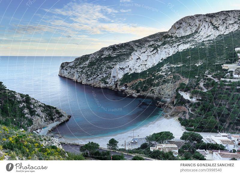 Strand La Granadella in der Provinz Jávea Alicante. granadella alicante javea Spanien Spanisch Landschaft Wasser Schönheit in der Natur Landschaft - Natur MEER