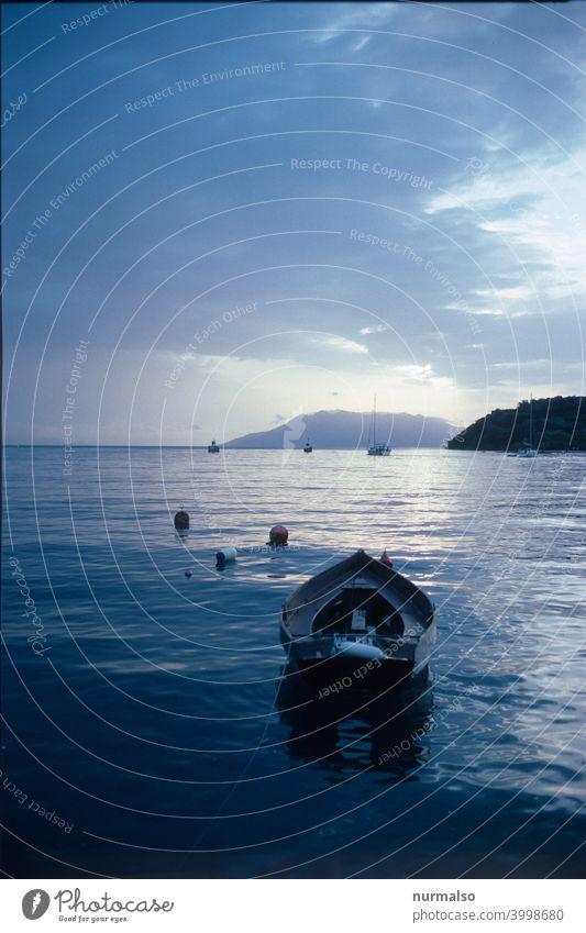 Hafenidyll Griechenland hafen Meer Urlaum fischer fischerboot inseln Ägäis salzwasser erholung