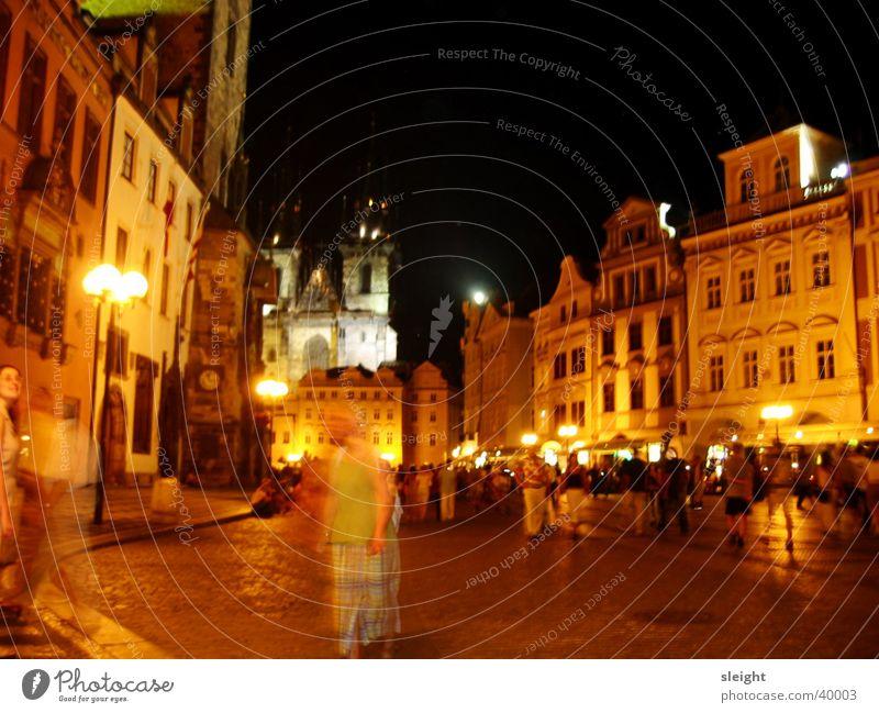Prager Nachtleben Tschechien Club Gasse