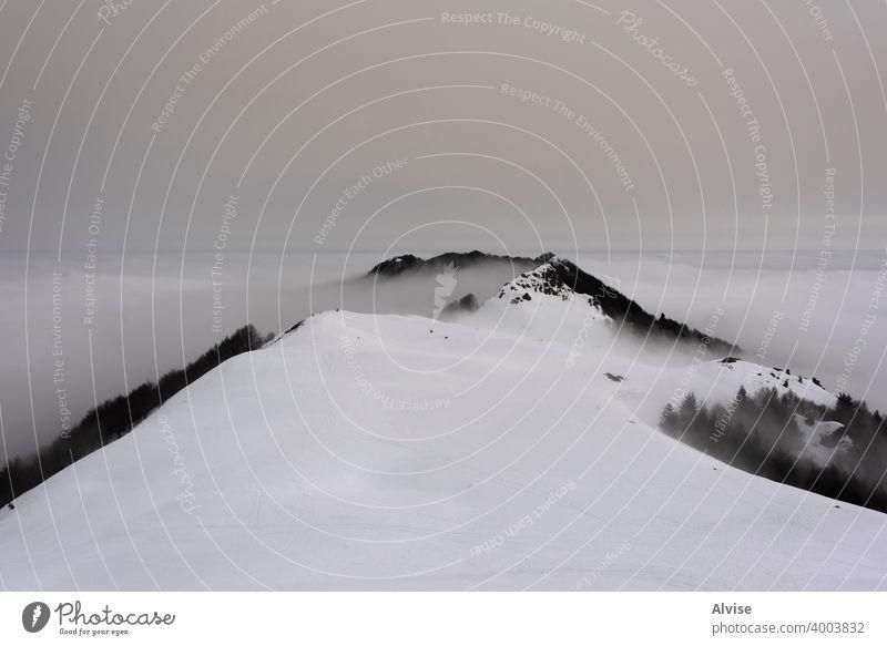 Traumlandschaft eins Schnee Winter Natur Sonnenaufgang alpin Horizont Landschaft Cloud Berge u. Gebirge Himmel Felsen Hügel Tourismus Gipfel hoch