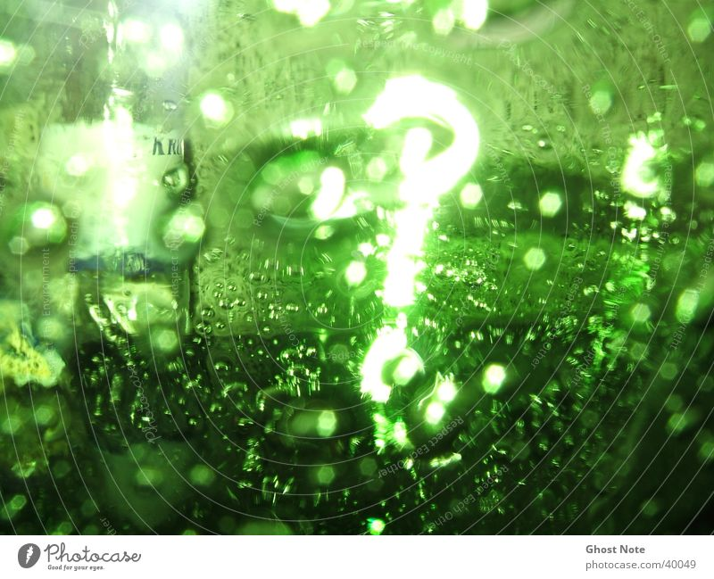 ?Green Question? grün Stil Glas