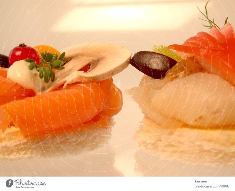 ++++++ GOURMET STOFF +++++++++ Lachs Heilbutt Feinschmecker Gorgonzola Ernährung Fingerfood Fisch