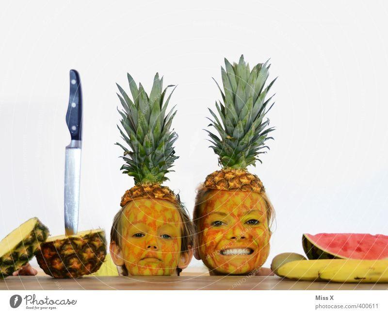 30 JAHRE nur Unsinn im Kopf Lebensmittel Frucht Ernährung Essen Messer Mensch Kind Frau Erwachsene Mutter Familie & Verwandtschaft Gesicht 2 3-8 Jahre Kindheit