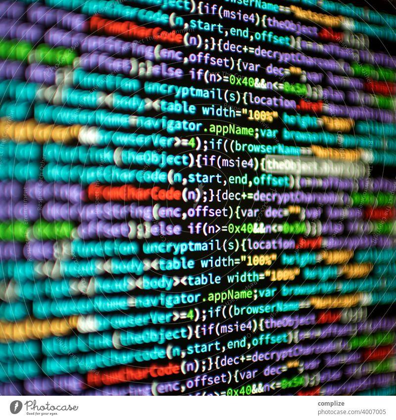 Code Programmiersprache programmieren Technologien it background Computer webseite Virus screens Bildschirm HTML Angriff Sicherheit Screen coder coding Sprache