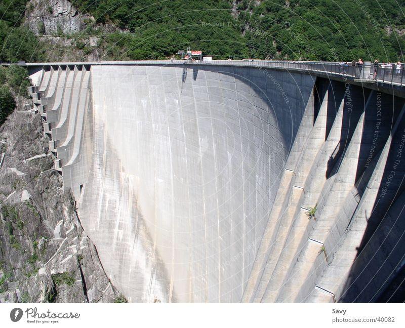 Staumauer Mauer Architektur Schweiz Stausee
