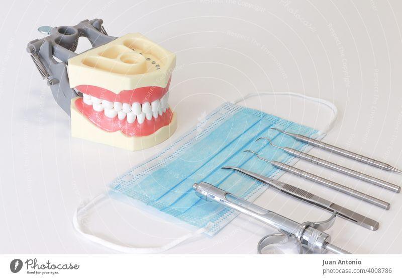 Odontologie Zahnarzt dental Zahnheilkunde Medizinisches Instrument Gesichtsmaske