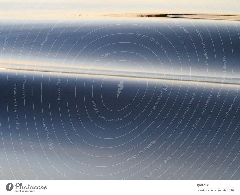 untitled See Wellen Reflexion & Spiegelung weich langsam Wasser Fototechnik Konzentration Frieden blau refelxion sanft