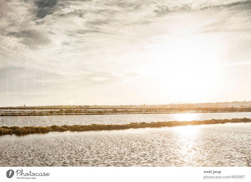 Saline -I- Himmel Ferien & Urlaub & Reisen Wasser Sommer Meer Erholung Einsamkeit Landschaft Wärme ästhetisch Urelemente Landwirtschaft Handwerk Tradition