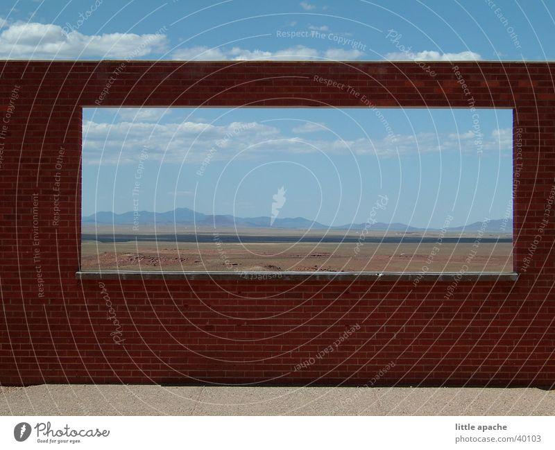 Navajo Country Wolken Ferne USA Niveau Amerika Rahmen Indianer Naturschutzgebiet Navajo-Gebiet