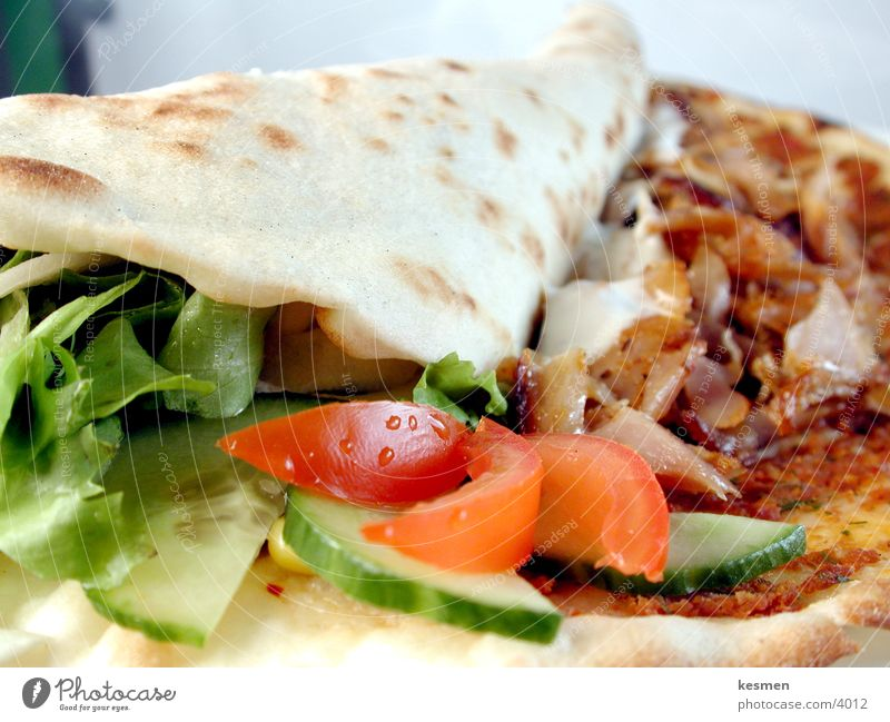 türkische pizza :: türkische pizza Pizza Ernährung Lahmacun türkisches food Salat Hackfleisch