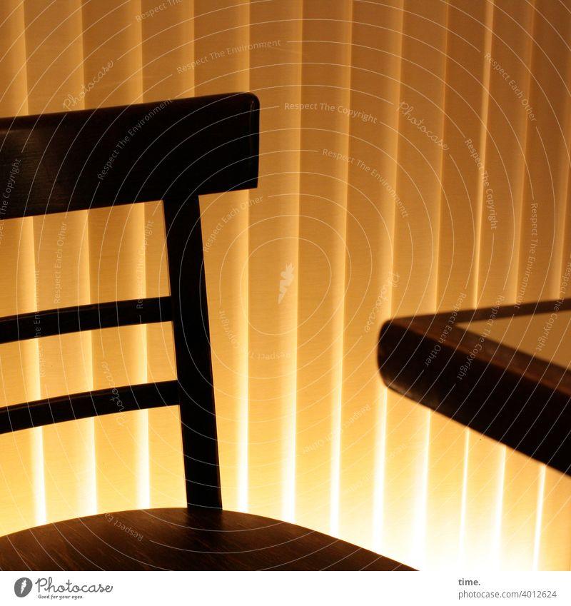 bestuhltes Gelände (18) tischkante gegenlicht vorhang kunstlicht blenden