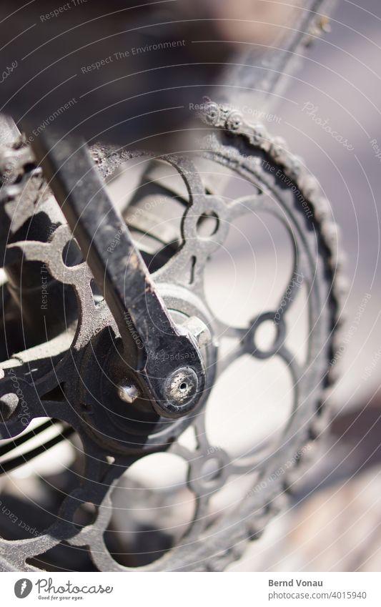 Kettenblatt Zahnrad Fahrrad Vintage Altmetall kettenblatt fahrradteile Fahrradkette Verkehr Kurbel Metall Achse Dekoration & Verzierung rund traditionell