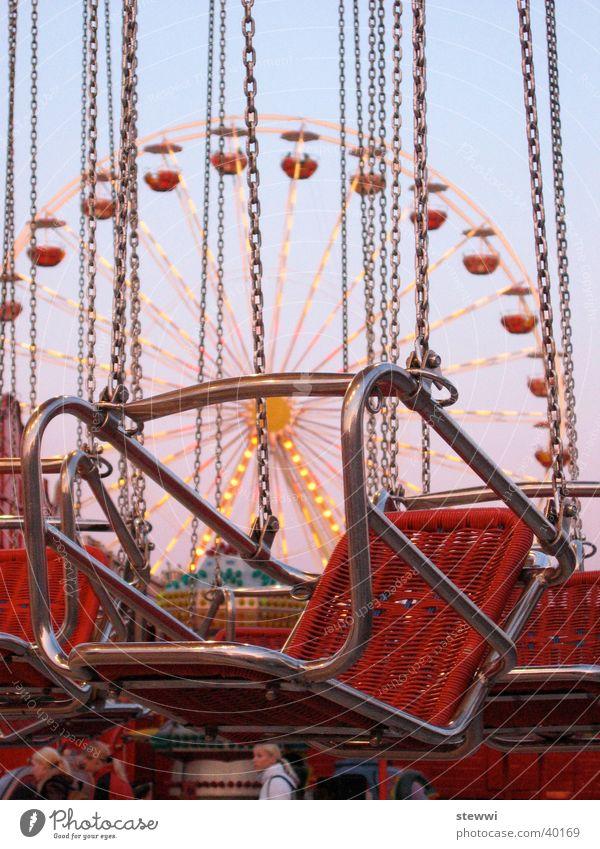 Ketten Freude Freizeit & Hobby Jahrmarkt Riesenrad Karussell einsteigen