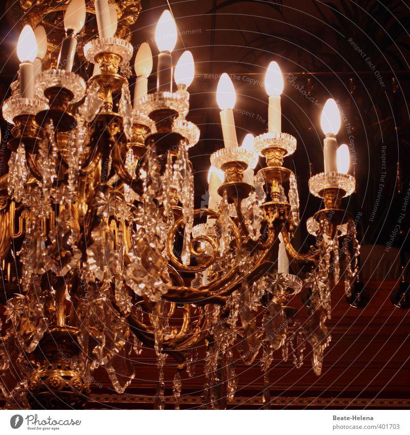 wenn die Tage kürzer werden Lifestyle elegant Stil Häusliches Leben Lampe Kronleuchter Dekoration & Verzierung Erholung glänzend ästhetisch außergewöhnlich