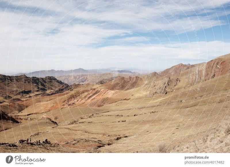 Atacama-Wüste in Chile, Südamerika. Außenaufnahme. Tageslicht. Querformat. Foto: Alexander Hauk atacama atacama-wüste südamerika chile außenaufnahme tageslicht