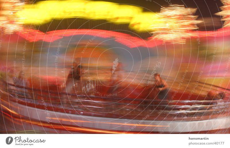 Move01 Mensch Farbe Bewegung Vergnügungspark