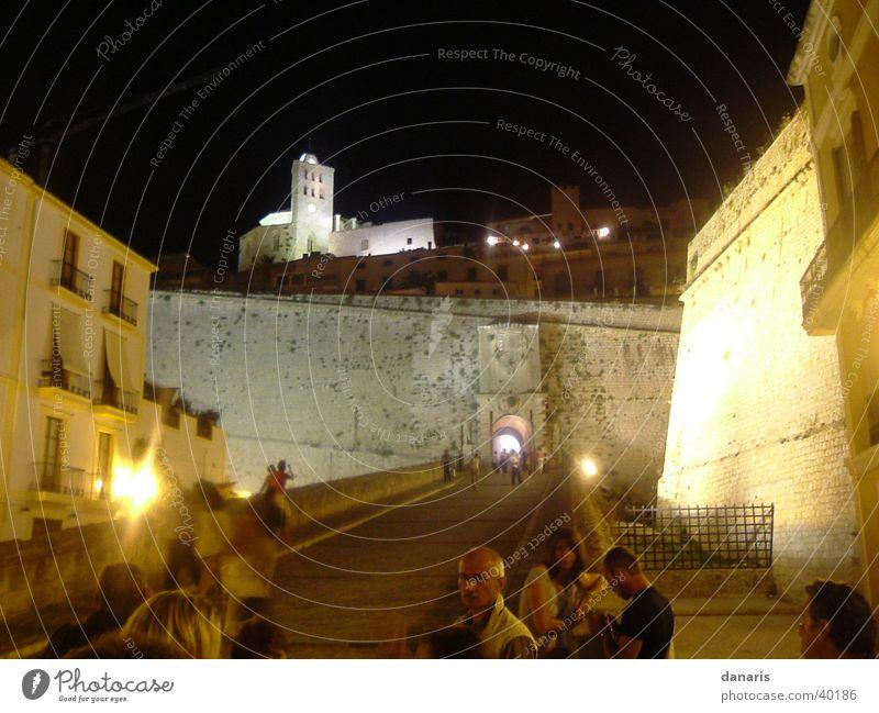 Ibiza, Burg in der Nähe des Hafens, Eivissa Ferien & Urlaub & Reisen Stil Europa Burg oder Schloss