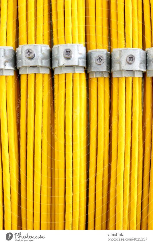 Netzwerkkabel netzwerk computer netzwerkkabel ethernet LAN gelb leitung daten kommunikation Technik & Technologie Hardware Informationstechnologie Anschluss