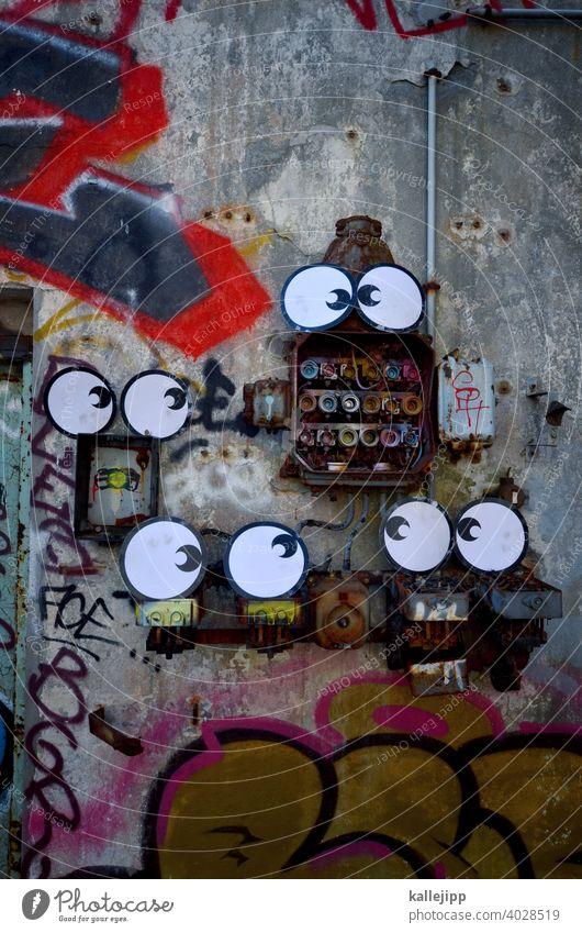 usertreffen Augen Comic Strom Sicherungskasten Stromschlag Energie Energiewirtschaft Elektrizität Technik & Technologie Erneuerbare Energie Kabel Energiekrise