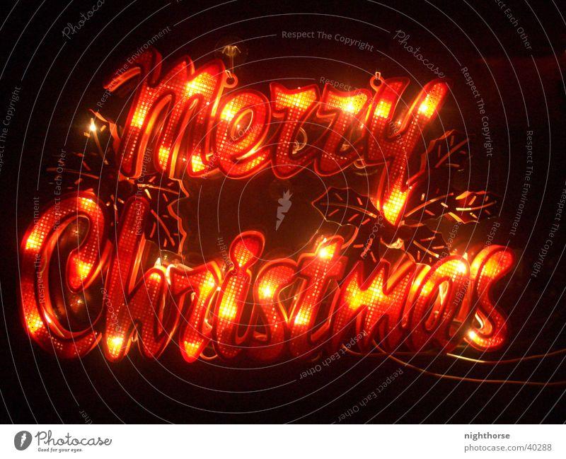 Glowing X-Mas Weihnachten & Advent Fenster Beleuchtung Schmuck