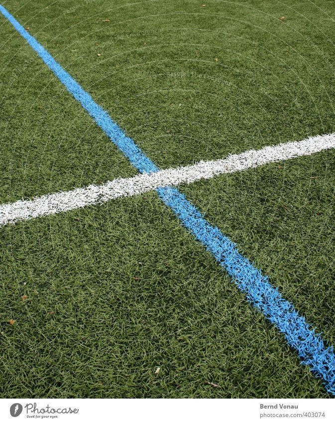 8 Sport Rasen Sportplatz Sportstätten Schilder & Markierungen saftig Sauberkeit blau grün weiß Ordnung Grenze Wegkreuzung überlappung diagonal Klarheit Richtung