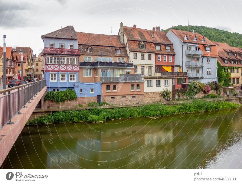 Wertheim am Main wertheim Großstadt Architektur Fachwerk mittelalterlich Haus Fassade Hausfassade historisch Kultur Tradition Altstadt Stadt Fußgängerzone